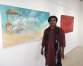 Indian artist's painting exhibition '29' on display