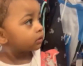 Cardi B's daughter gives side-eye to mom