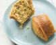 Poppy seed muffins with rich, full flavor - and less sugar