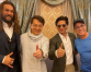 Shah Rukh meets his 'heroes' Jackie Chan and Jean-Claude Van Damme