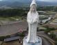Giant Buddhist goddess statue in Japan gets face mask to pray for end of Covid-19