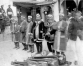 Nostalgia: Musicians on the crowning day of then King Tribhuvan  at Hanuman Dhoka Palace