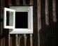 Through the open window