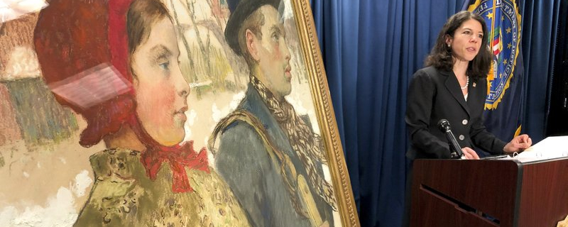 Jewish family's painting looted by Nazis in 1933 is returned