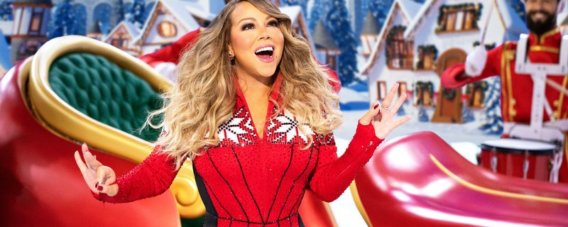 All Mariah Carey wants is you to enjoy her Christmas special