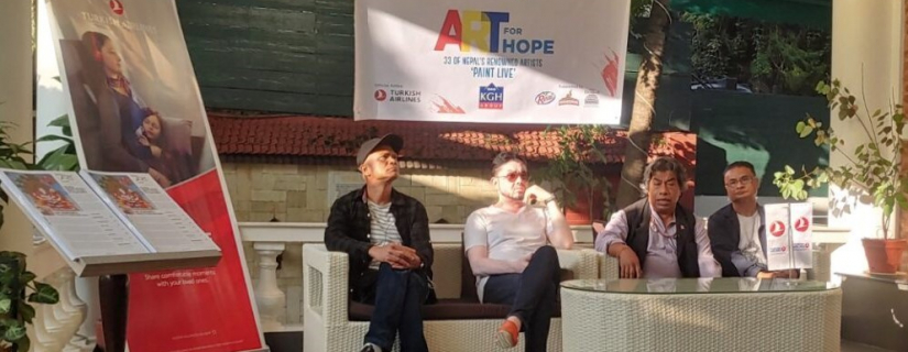 """MoNA initiates promotion of Nepali Art through a social cause """"Art for Hope"""""""