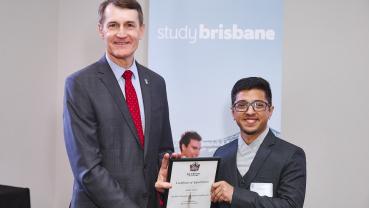 Nepali student becomes Brisbane International Student Ambassador