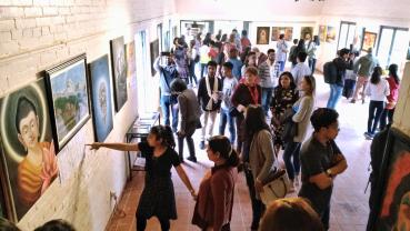 Art exhibition on Nepal India Friendship