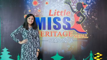 Gearing up for Little Miss Heritage Nepal
