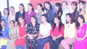 Gearing up for 'Super Mom' beauty pageant