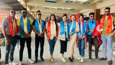 Nepali models in 'The Face of South Asia'