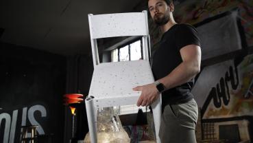 Designers turn plastic trash into treasures