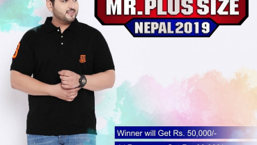 First plus size Male  pageant in Nepal