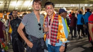 Mr World Nepal Akshay returns with 'Multimedia Award'