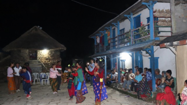 Dancing to the beats of kaura
