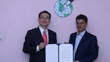 Collaboration between Nepal and South Korea for educational development