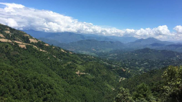 My evergreen memory: One day hike from Nagarkot to Dhulikhel