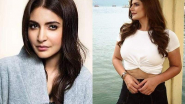 Anushka Sharma supports Zareen Khan after she gets trolled for pic showing stretch marks
