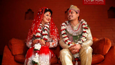 This Valentine's Day Barsha and Sanjog tied knot