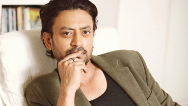 Irrfan Khan back in India