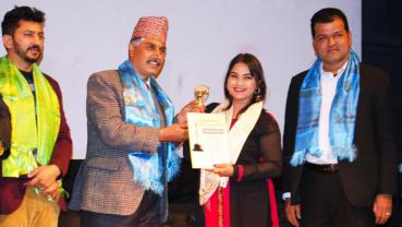 Mallika Karki bags Best Female Modern Singer