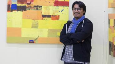 14th solo exhibition of Sagar Manandhar at Ageno: The Hestia