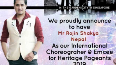 Rojin Shakya to choreograph International pageant Heritage Pageants 2019