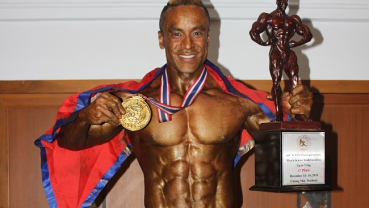 Getting to know Mr World Body Building champion