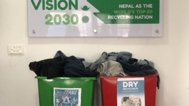 Collaborating for a cause: Creating school bags out of used jeans