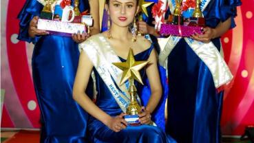 Neha Shrestha wins the title of Miss Gorkha