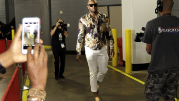 Rockets' fashionable forward Tucker turns designer