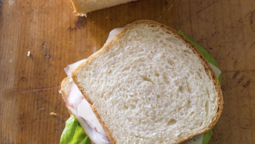 Next time, don't buy sandwich bread. Make it at home