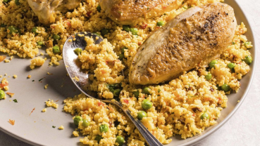 This chicken and couscous dish is a winning weeknight dinner