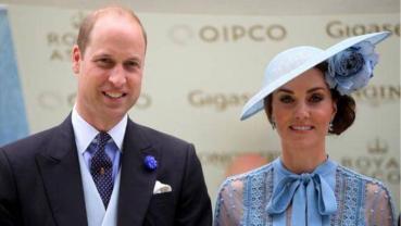 Kate Middleton returns to Wimbledon with Prince William