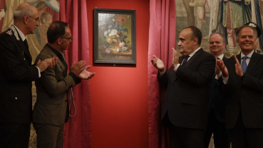 Painting, stolen by Nazi soldier, is back in Florence museum