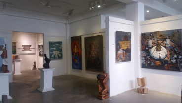Ninth National Art Exhibition in photographs