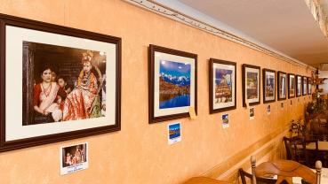 Dawa's photo promoting Nepal in US
