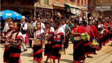 Bhaktapur celebrates Sagun Jatra