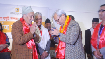 Artists and Cartoonists Felicitated