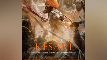 Akshay Kumar's 'Kesari' become the biggest opener of the year, mints 25cr on day 1