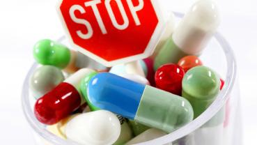 Antibiotics don't work for everything