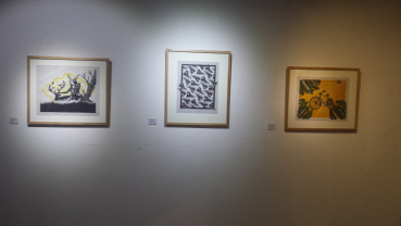 Traces on display at Park Gallery