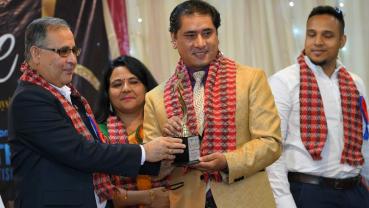 Rojin Shakya bags Outstanding International Choreographer award