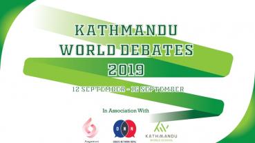 'Kathmandu World Debates 2019' all set to kick off on September 12