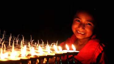 Sharing light and happiness