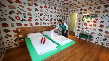 Vegetarian's Wurst nightmare? Germany's sausage hotel