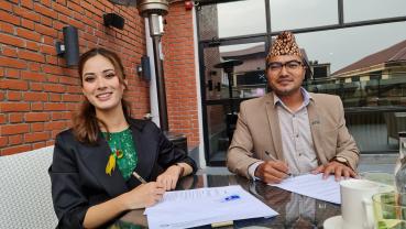 Gorkha Eco Panel ties up with Shrinkhala Khatiwada