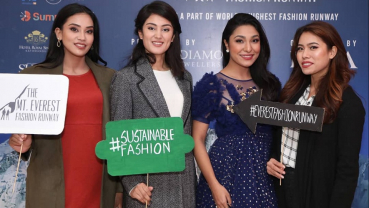 Mt Everest Fashion Runway to promote sustainable fashion