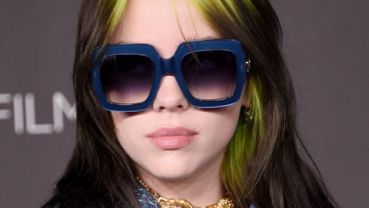 Billie Eilish's green mullet hairstyle was an accident