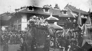 Nostalgia: Coronation of Tribhuvan in 1913